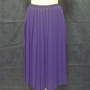 Leslie Fay Womens Vintage Pleated Skirt